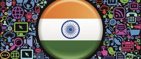 عدد مستخدمى الانترنت فى الهند