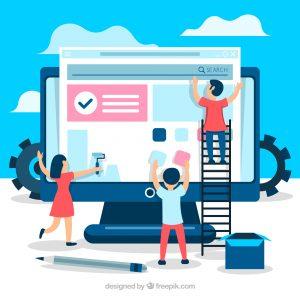 اعلان تصميم المواقع وتطبيقات الجوال