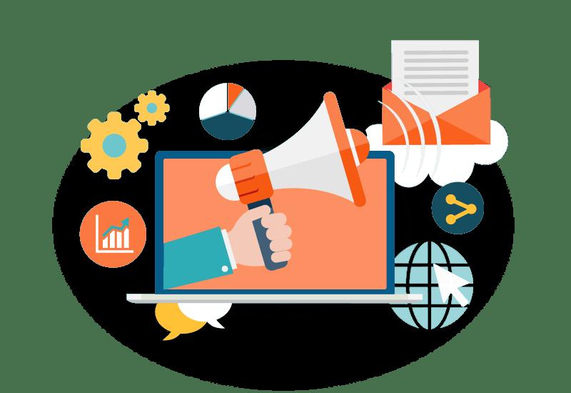 إدارة الإعلانات والحملات التسويقية