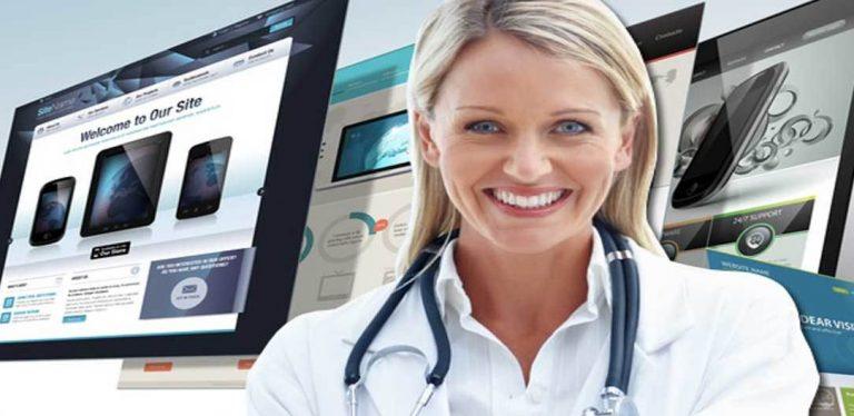 تصميم مواقع طبية