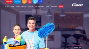 تصميم موقع الدولية للنظافة