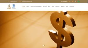 تصميم موقع شركة تحصيل لتحصيل الديون