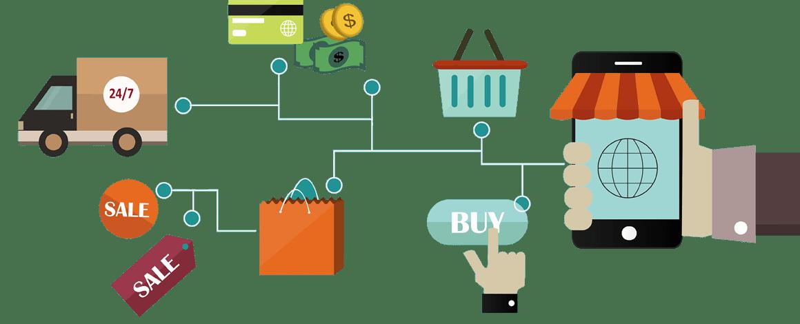 اهمية تصميم المتاجر الالكترونية