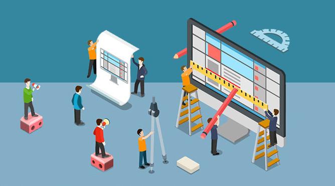 خطوات تصميم موقع الكتروني متكامل