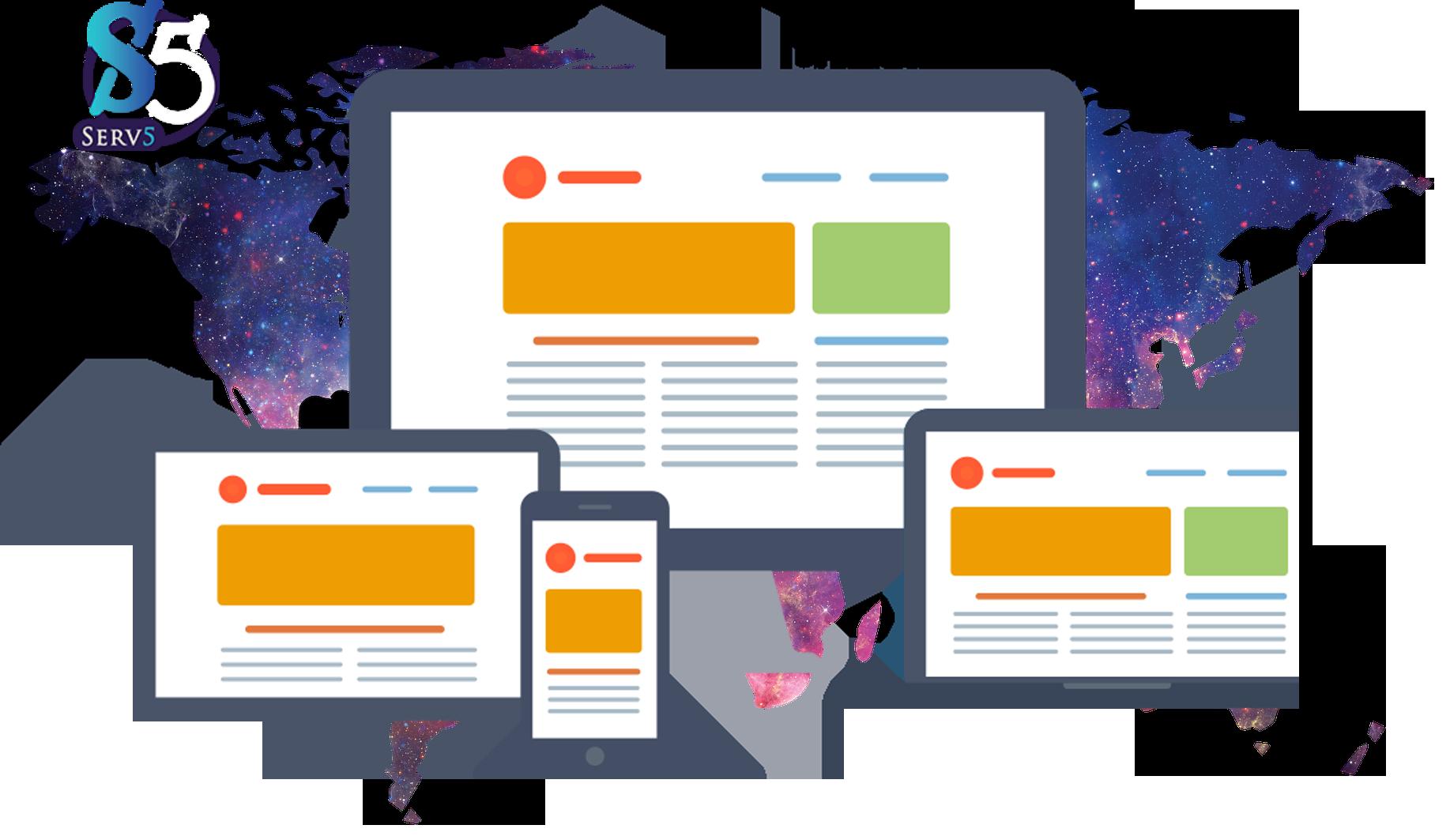 Website interface design - شركة تصميم واجهة موقع الكتروني