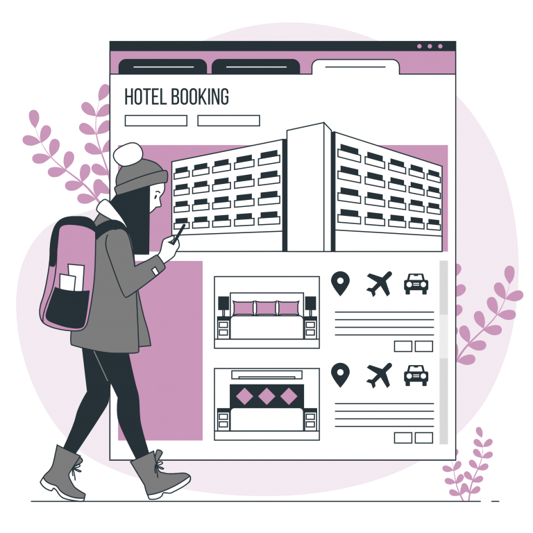 Website design hotel from Serv5
