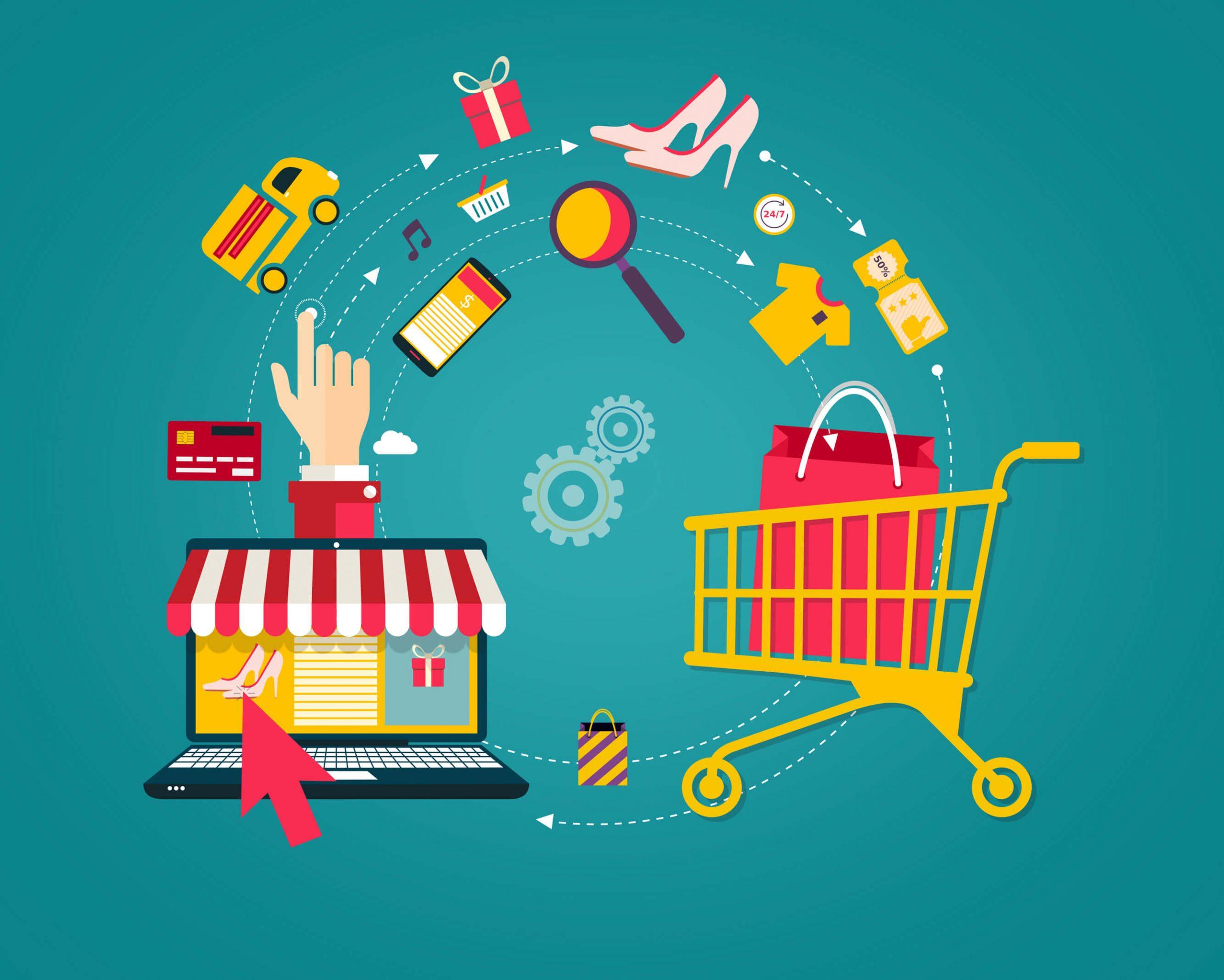 خطوات انشاء متجر الكتروني